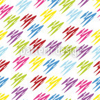 Color Proof Seamless Vector Pattern Design