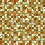 Grüßende Siebziger Nahtloses Muster