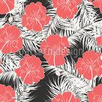 Tropische Reise Muster Design