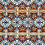 In gestreiften Schritten Vektor Design