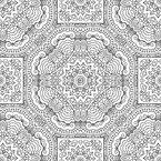 Die Umrisse Streicheln Vektor Muster