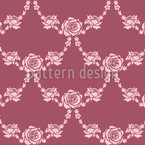 English Roses Seamless Vector Pattern Design