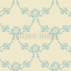 English Roses Sand Seamless Pattern
