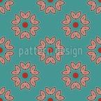 Roupas festivas Design de padrão vetorial sem costura
