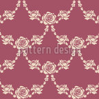 English Roses Nature Seamless Vector Pattern
