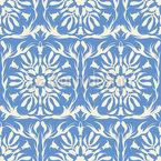 Arabesque Flora Seamless Vector Pattern Design