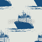 Cast Off Nautical Seamless Vector Pattern Design