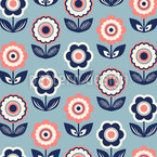 Flower power everywhere Repeat Pattern