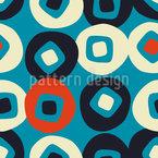 Turn in on itself Seamless Vector Pattern Design