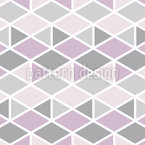 Triangle And Rhomb Mosaic Vector Ornament