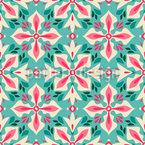 Floral Cross Pattern Design