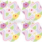 Tiffany Bouquet Pastell Nahtloses Vektormuster