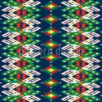 Traditionelle Rumänische Streifen Rapportmuster