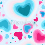 Frozen Hearts Pattern Design