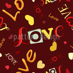 Love Inscriptions Vector Ornament
