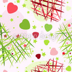 Braided Hearts Vector Design