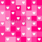 Pixelige Liebe Rapportiertes Design