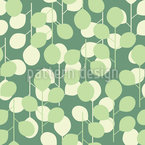 Garden pond Seamless Vector Pattern Design