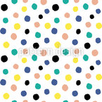 Dots with texture Seamless Pattern