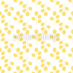Golden autumn Seamless Vector Pattern