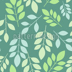 Chaotic leaves Seamless Vector Pattern Design