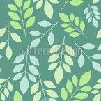 Chaotische Blätter Nahtloses Vektormuster
