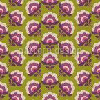 Башня цветов Бесшовный дизайн векторных узоров