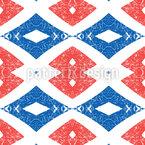 みすぼらしい菱形 シームレスなベクトルパターン設計
