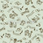 Good Oldies Repeating Pattern