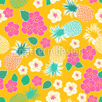 Tropical life Repeating Pattern