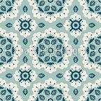 Kaleidoskop mit Blättern Vektor Design