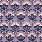 Nightshade family Seamless Vector Pattern Design