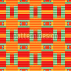 Lined color gradient Seamless Vector Pattern Design
