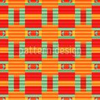 Linierter Farbverlauf Musterdesign