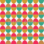 Complementary eggs Seamless Vector Pattern