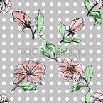 Illustrierte Blumen Vektor Design