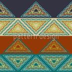 Streifende Dreiecke Nahtloses Vektormuster