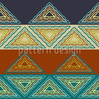 Striping Triangles Seamless Vector Pattern Design