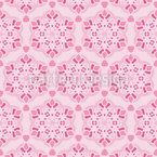 Blossoms Uniform Seamless Vector Pattern Design