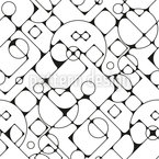 Roundet corners Vector Pattern