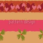 Fields Of Love Seamless Vector Pattern Design