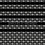 Tecido interior Design de padrão vetorial sem costura
