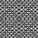 Como metal prateado Design de padrão vetorial sem costura