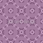 Counting from corner to corner Seamless Vector Pattern