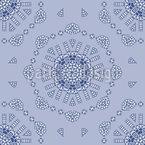 Around eight corners Repeating Pattern