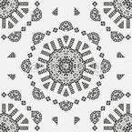 Eight round corners Repeat Pattern