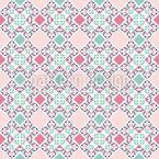 На лоскутное одеяло Бесшовный дизайн векторных узоров