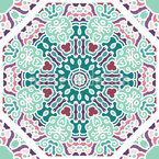 With orient factor Seamless Vector Pattern