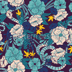 In the dark jungle Repeat Pattern