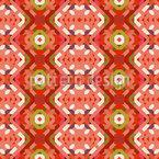Geometric embroidery Vector Design